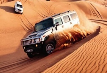 Desert Safari Dune bashing